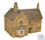 Bachmann Scenecraft 44-142 OO Scale Highley Station House 148mm x 110mm x 130mm